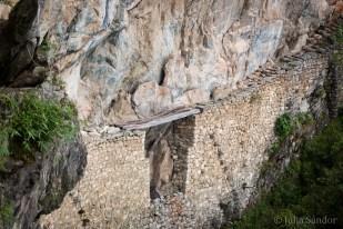 The Inca Bridge: would you dare to cross it?