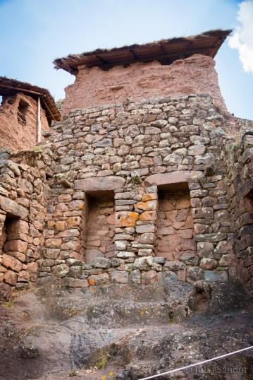 The Sun temple in Pisac