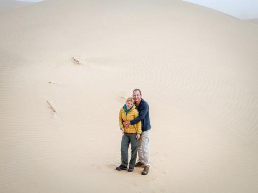 Worldviber in the Namib Naukluft Park at Walvis Bay