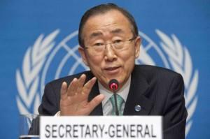 Ban Ki-Moon, UN Secretary General