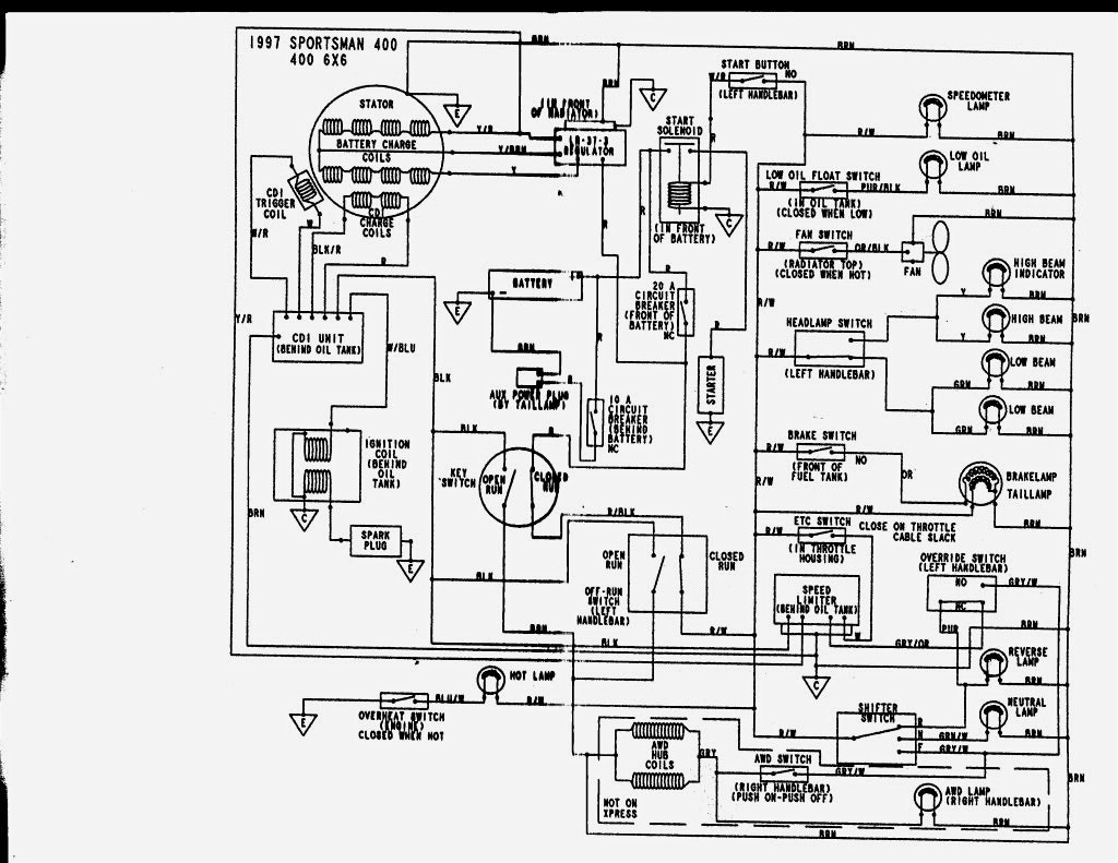 Collection Of Polaris Sportsman 500 Wiring Diagram