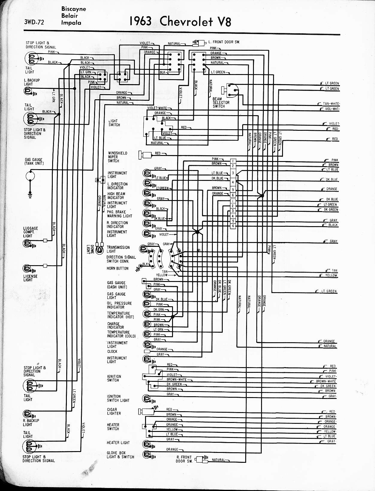 Collection Of Chevy Impala Wiring Diagram Download
