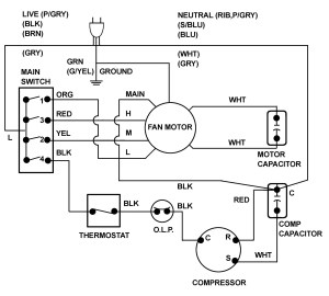 Collection Of Car Air Conditioning System Wiring Diagram Pdf Download
