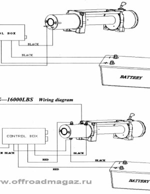Chicago Electric Winch Wiring Diagram Sample