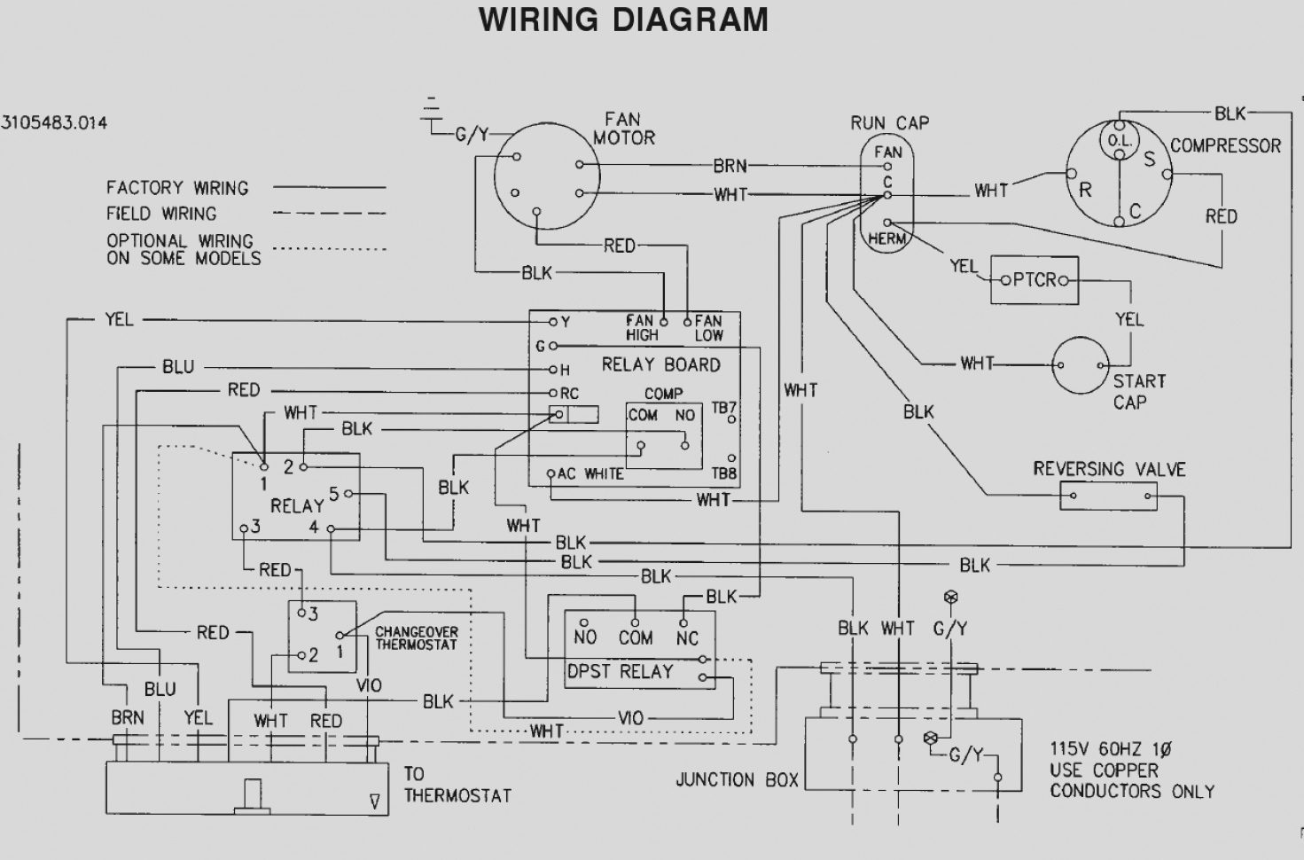 3 Wire Electrical Wire Diagram