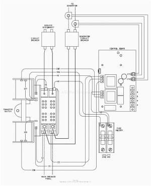 Get Generac 200 Amp Transfer Switch Wiring Diagram Sample
