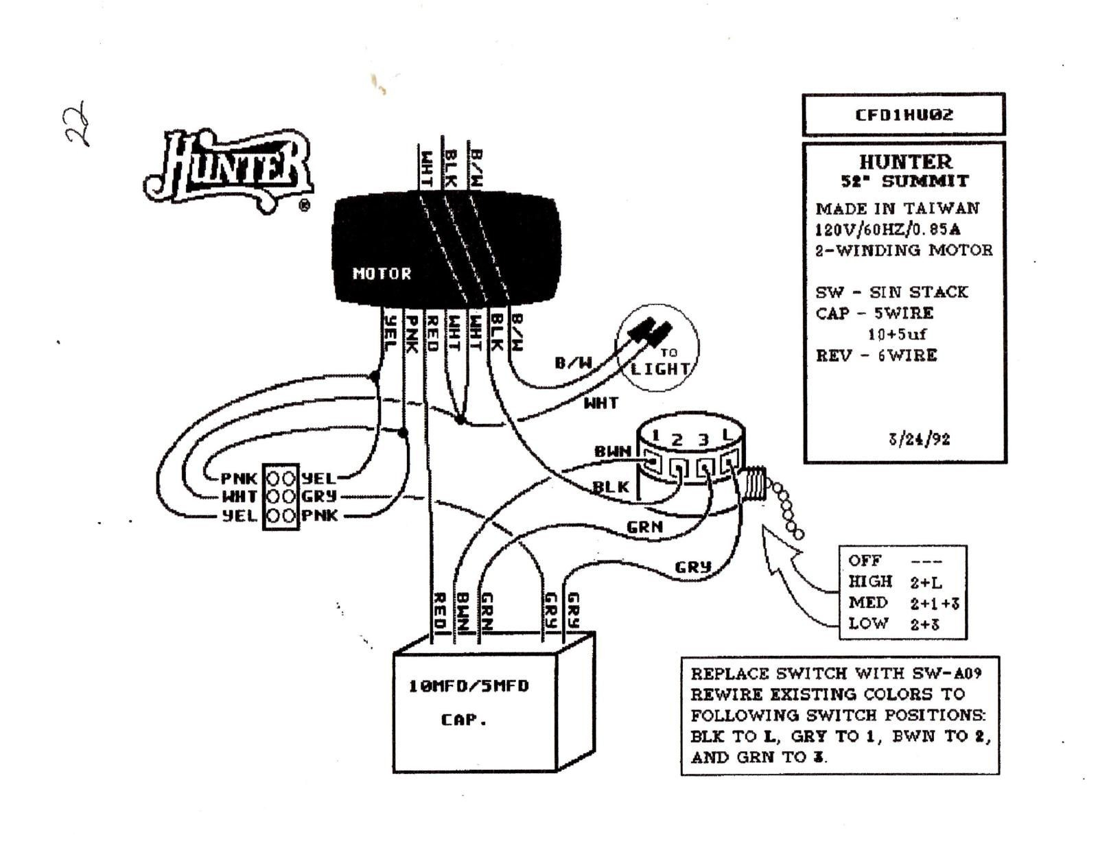 Find Out Here Hunter Fan Wiring Diagram Remote Control Sample