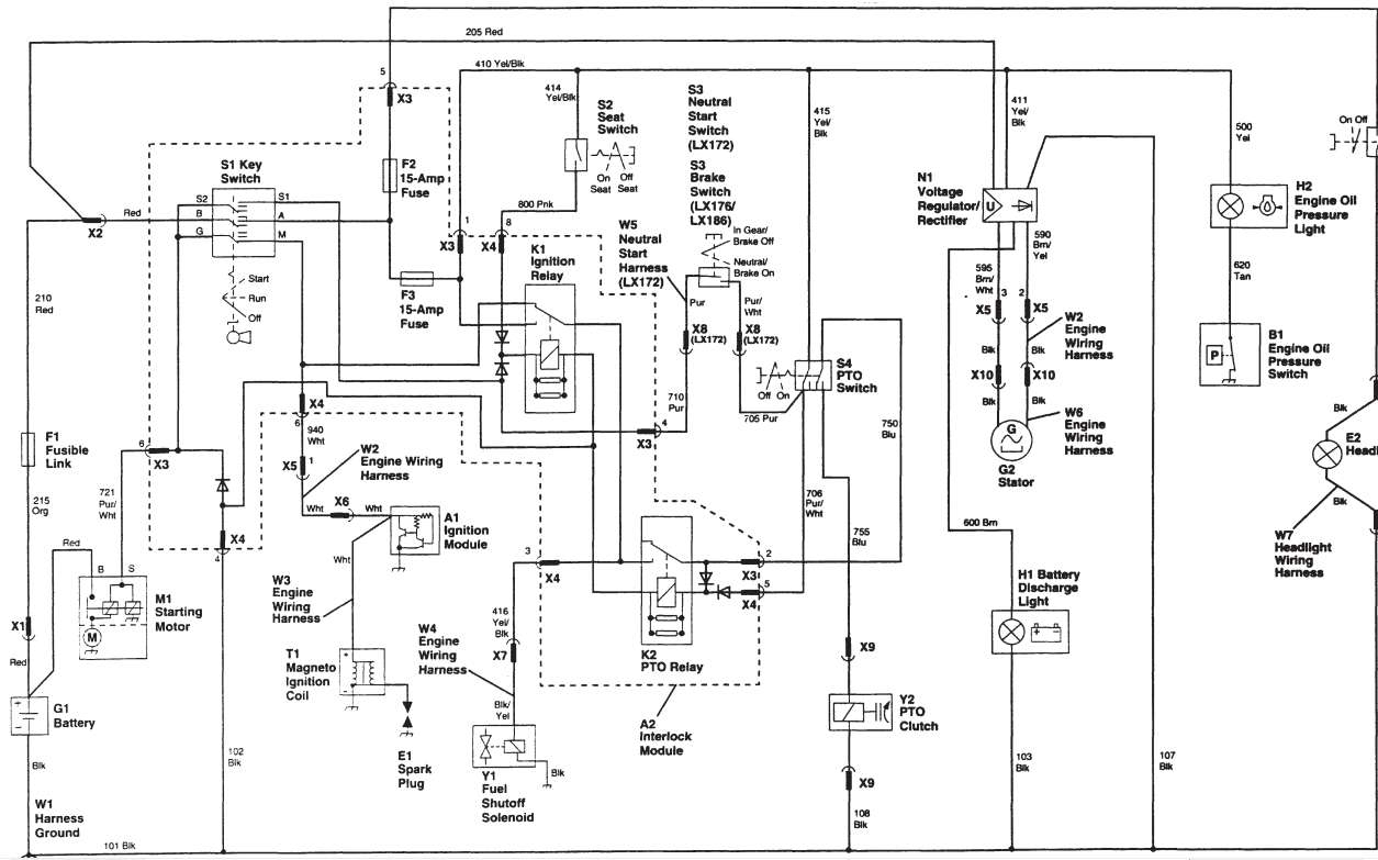 John Deere Wiring Schematics Diagram Or Schematic