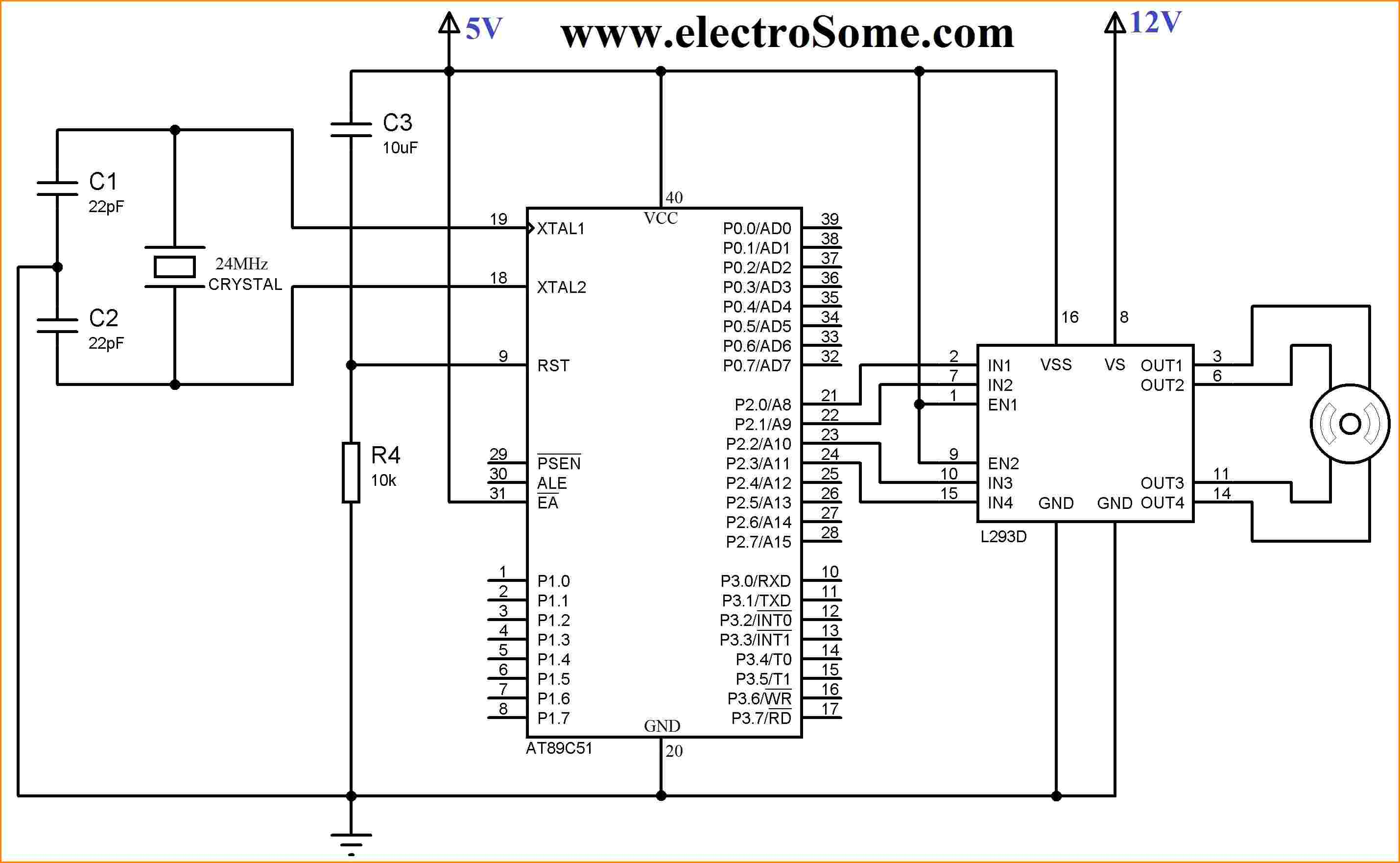 Camera 4 Wire Schematic