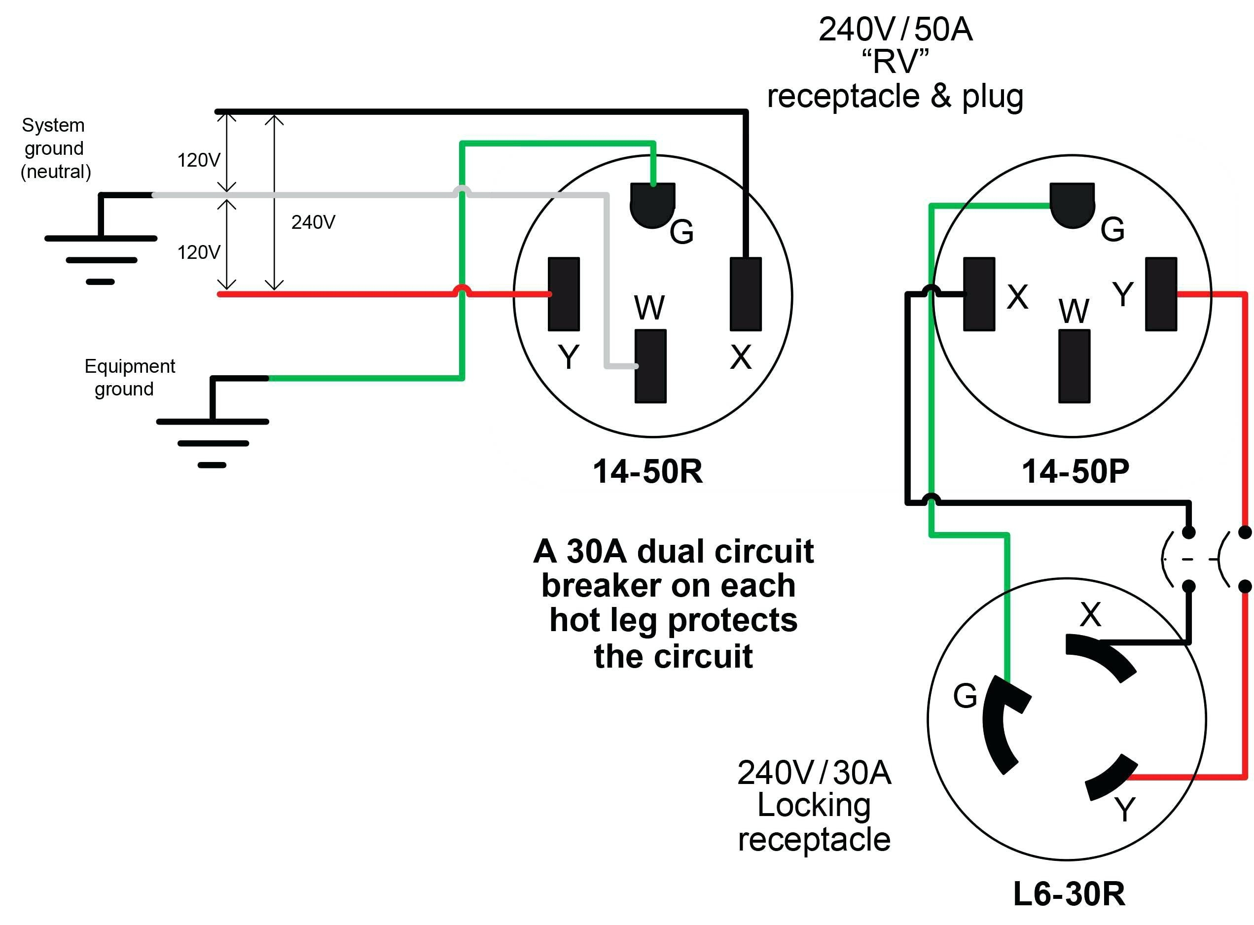 gallery of nema l14 30r wiring diagram sample