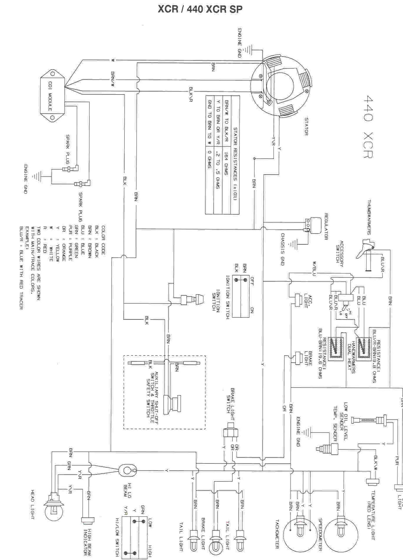 Yamaha Snowmobile Wiring Diagrams