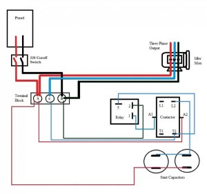 Collection Of Single Phase Hoist Wiring Diagram Sample