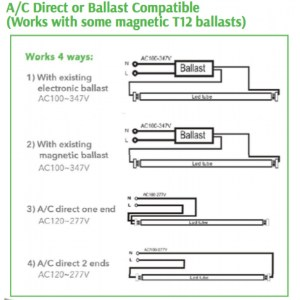 Gallery Of T12 Ballast Wiring Diagram Sample