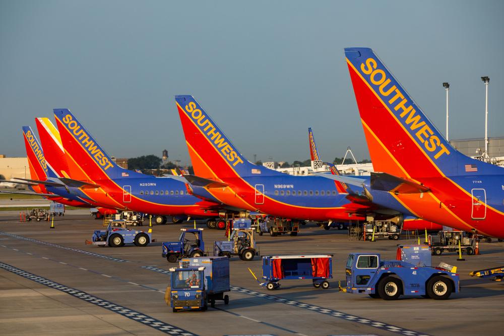 Canceled Flights Plague Southwest Airlines