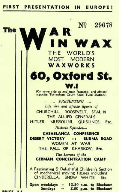 war-wax-pamphlet