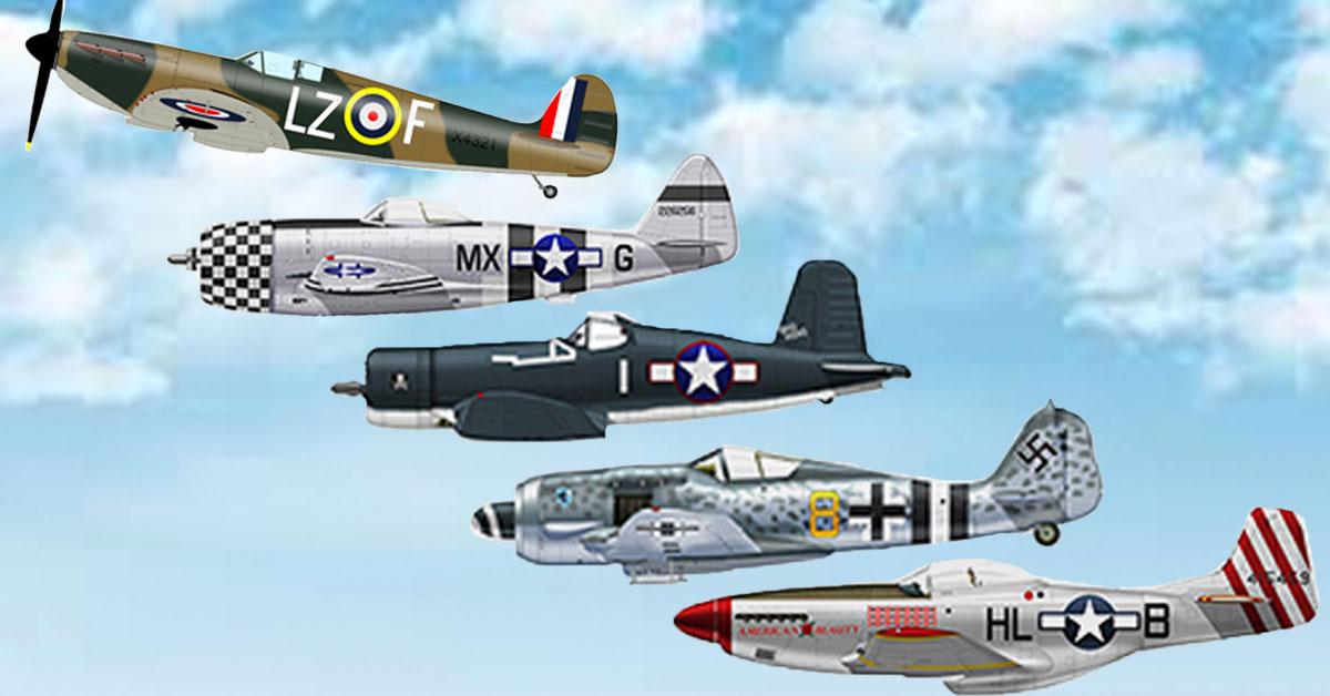 Best Fighter Wwii Plane German