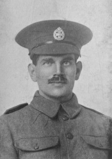 Sydney Cobbold of the 8th Battalion, Rifle Brigade died 3rd October 1916, Somme area (Kew Guild photo)