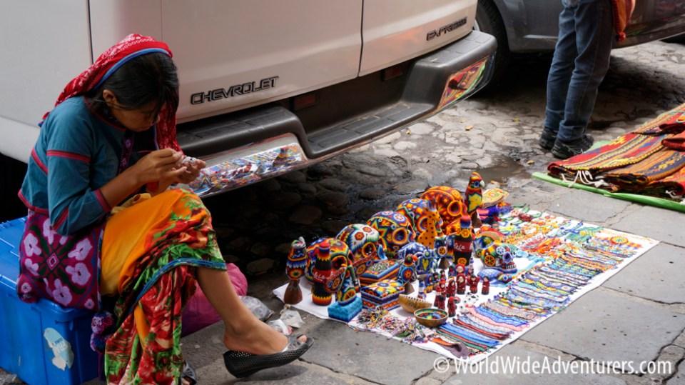 El Bazaar Sabado at San Angel in Mexico City