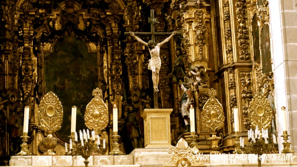 Altar of Kings Cathedral Mexico City