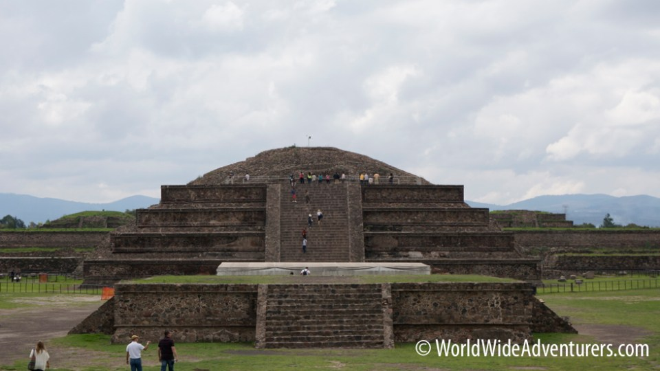 Mexico City Pyramids: Temple of Quetzalcoatl