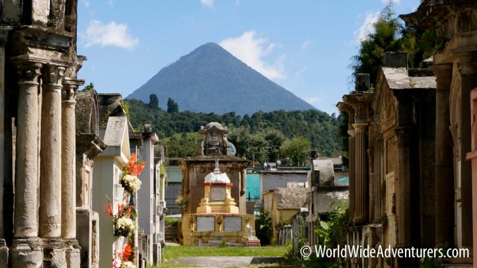 Santa Maria Volcano in Xela Guatemala