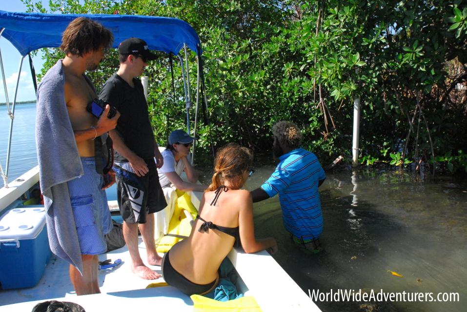 Caye Caulker Caveman, Belize