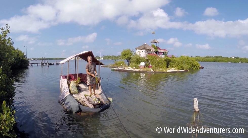 Plastic Bottle Floating Island – The Richart Sowa Story