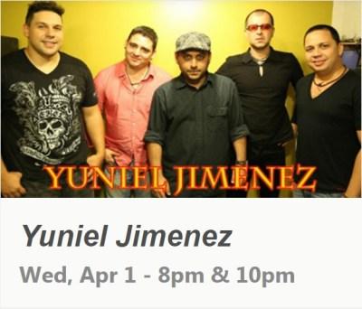 01 de abril - Yuniel Jiménez en el club Subrosa de Nueva York