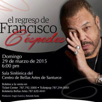 29 de marzo - Francisco Céspedes en San Juan