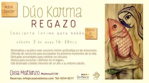 02 de mayo - Dúo Karma en Casa Matienzo, Buenos Aires