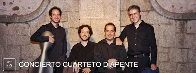 12 de mayo - Cuarteto Diapente en Centro Cultural Nicolás Salmerón de Madrid