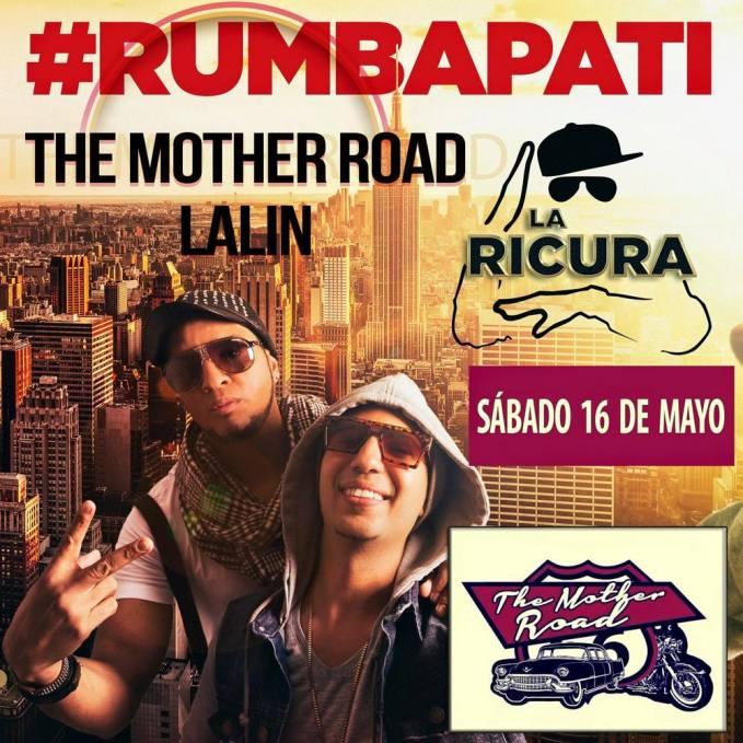 16 de mayo - La Ricura en The Mother Road de Lalin, Pontevedra
