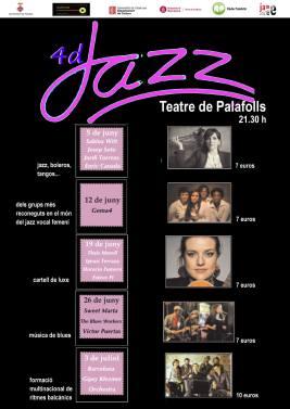 12 de junio - Gema 4 en Teatre de Palafolls, Barcelona