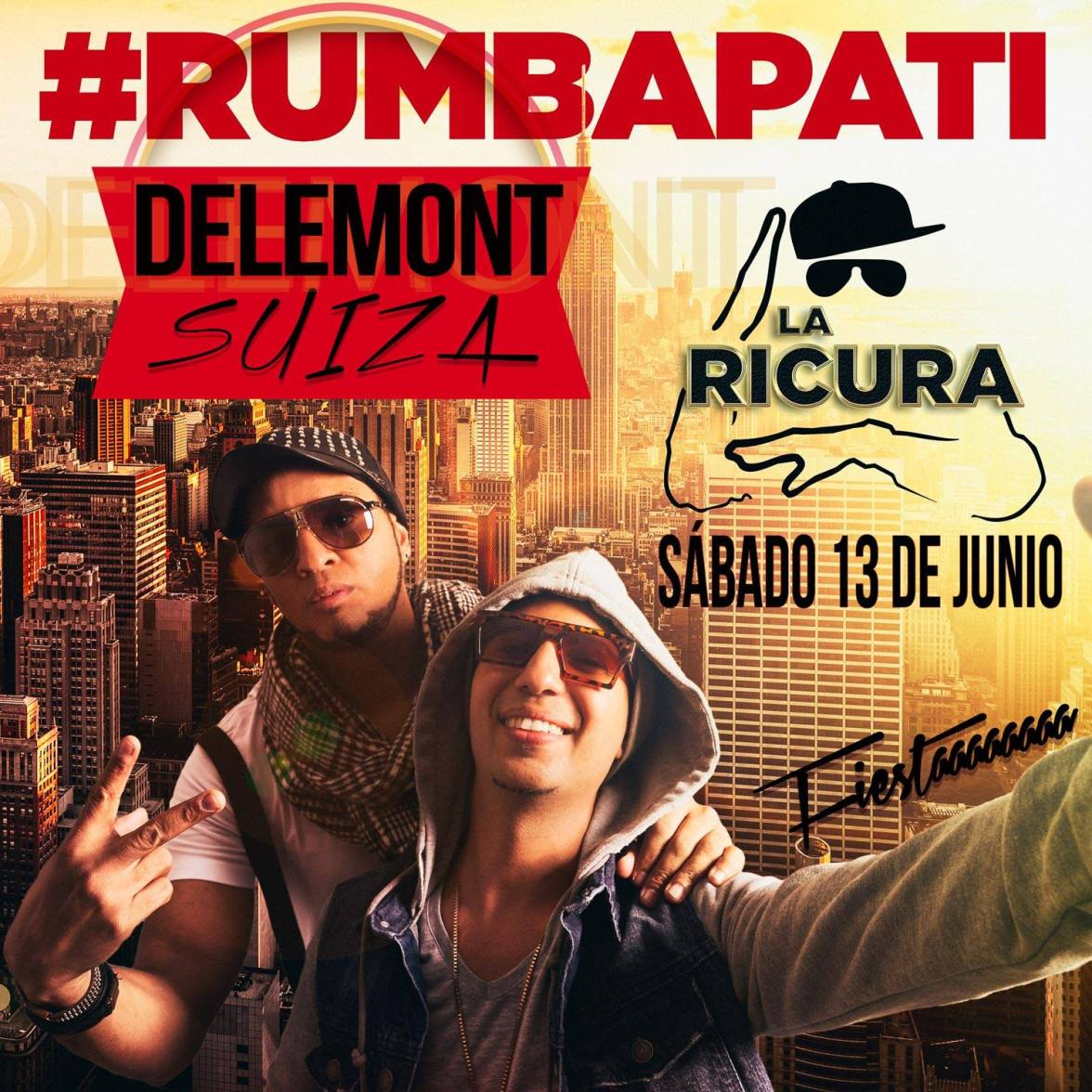13 de junio - La Ricura en Delemont