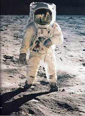 Aldrin on the Moon 1969