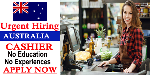 Cashier Job Description in Australia: We are trying to find Associate in Nursing economical, courteous Cashier WHO possesses glorious client service skills.
