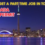 How to Get a part time job in Toronto ?