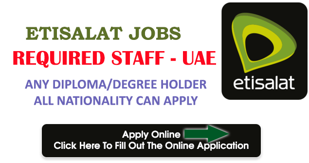 Etisalat Telecom Jobs In Dubai