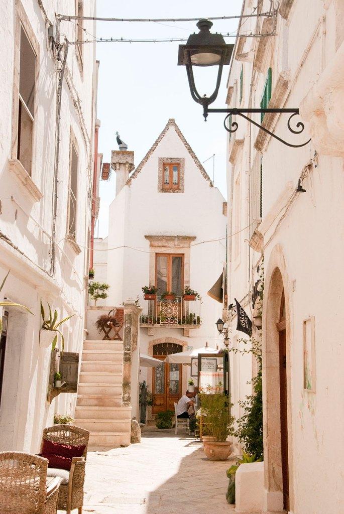 uliczka w Locorotondo