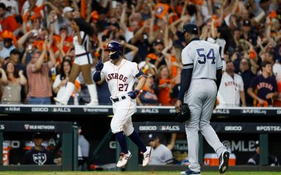 For Yankees and Astros it was a tale of two cities