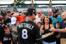 Gone fishing, Miami Marlins go into the break with impressive win