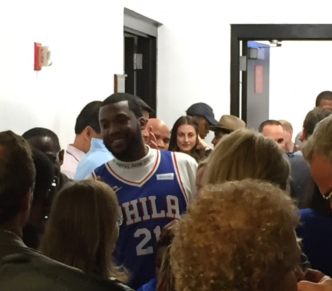 In the Heat of the moment, Meek Mill is free on the night Miami becomes first team out the east
