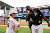 Gone fishing, Miami Marlins outfielder Cameron Maybin gets what he waited for before the break