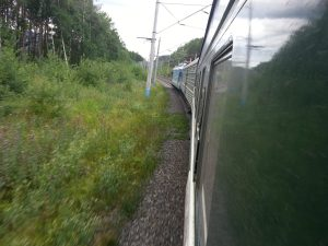 Some pics from the train