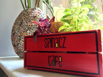 Spinacz Cafe - great sandwiches!
