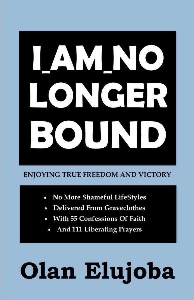 I Am No Longer Bound COVER 11.5 by 5.5