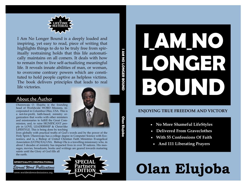 I Am No Longer Bound COVER b