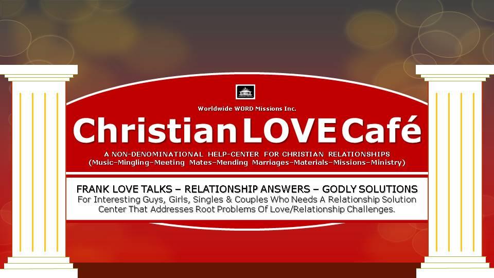 Christian Love Café Logo signpost