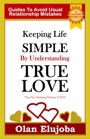 keeping life simple by understanding true love cover 8.5 x 5.5