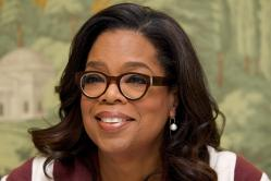 """NEW YORK, NY - APRIL 18: Oprah Winfrey at """"The Immortal Life of Henrietta Lacks"""" Press Conference at the London Hotel on April 18, 2017 in New York City. (Photo by Vera Anderson/WireImage)"""